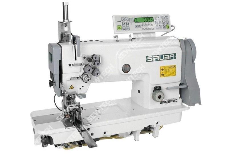 2-игольная машина челночного стежка Siruba T828-42-127KL/C для выполнения кармана