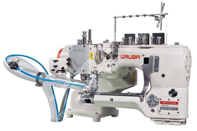 4-игольная швейная машина Siruba D007S-460-02HET/AW1 цепного стежка