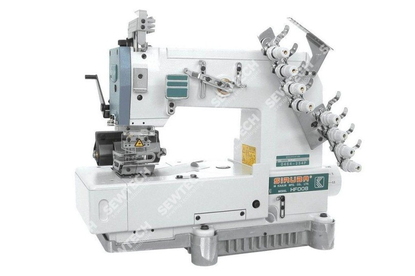 Siruba HF008-04064-254P/HPR 4-игольная машина цепного стежка для изготовления поясов