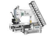 Siruba VC008-12064P/VPQ-K 12-голкова машина ланцюгового стібка для шиття декоративних збірок