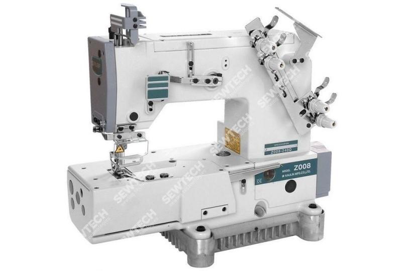 2-игольная машина цепного стежка Siruba Z008-248Q для выполнения декоративных строчек