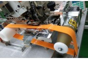 Siruba 747KST-514M3-24/VT/ACS 4-х ниточный промышленный оверлок для обметки краев воротников на футболках и рубашках