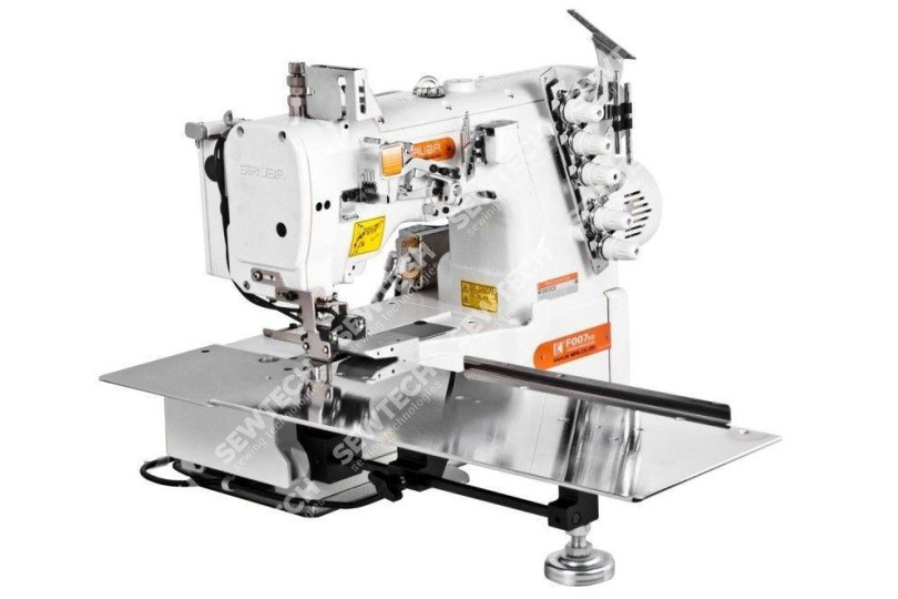 Siruba F007KD-U132-256/FFT/FHK 2-голкова плоскошовная машина з пневматичним просуванням матеріалу