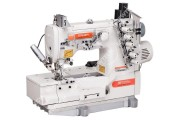 Siruba F007KD-W122-356(364)/FHA/UTG 3-игольная плоскошовная машина со встроенным сервомотором и электромагнитной обрезкой нитей