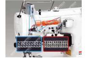 Siruba F007KD-W122-356(364)/FHA/UTJ 3-голкова плоскошовная машина з вбудованим сервомотором і электрообрезкой верхніх і нижніх ниток