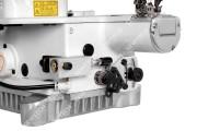 Siruba S007KD-W122-356/PCH-3M/UTX 3-голкова плоскошовная машина з миницилиндрической платформою, электрообрезкой ниток і вбудованим сервомотором