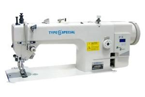 Type Special S-F01/0303D 1-голкова промислова швейна машина з подвійним просуванням матеріалу