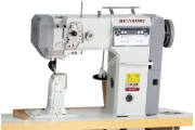 Beyoung BM-591A Автоматическая 1-игольная колонковая швейная машина с роликовым продвижением материала