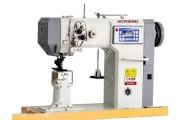Beyoung BM-592A Автоматическая 2-игольная колонковая швейная машина с роликовым продвижением материала
