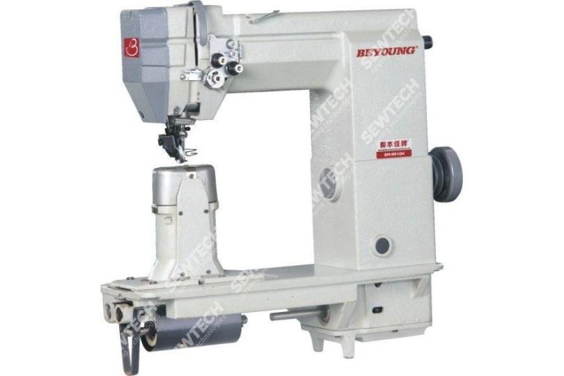Beyoung BM-9910 1-игольная колонковая швейная машина с приводным роликом