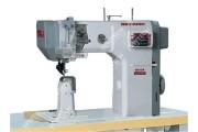 Beyoung BM-9910L\D Автоматическая 1-игольная колонковая швейная машина с роликовым продвижением материала