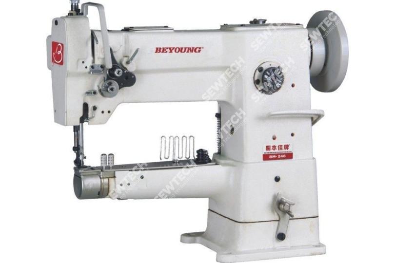 Beyoung BM-246 1-голкова швейна машина з рукавної платформою