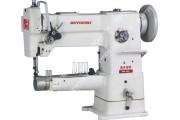 Beyoung BM-246V 1-игольная швейная машина машина с рукавной платформой для окантовки