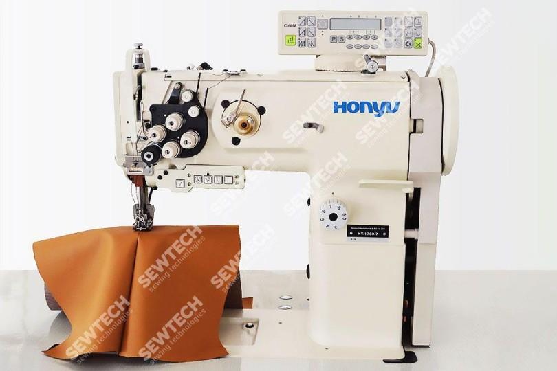 Honyu HY-1760-7 2-голкова автоматична колонкова швейна машина