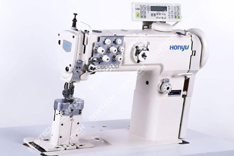Honyu HY-1780A-7 2-игольная автоматическая колонковая швейная машина