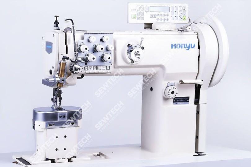Honyu HY-1780XL 2-игольная колонковая швейная машина