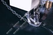 Honyu HY-550-1780 2-игольная колонковая швейная машина c программным управлением и вращающимся игловодителем