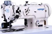 Honyu HY-1560N/TBL 2-голкова швейна машина для пришивання застібки-блискавки