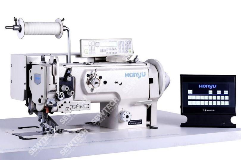 Honyu HY-550-12-1510 1-голкова швейна машина з програмним керуванням