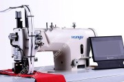 Honyu HY-550-K21 2-игольная швейная машина для пришивания застежки-молнии в расстегнутом виде