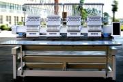 Промышленная четырехголовочная 15-ти игольная вышивальная машина Fortever FT-1504HC с рабочим полем 400x430 мм
