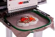 Промышленная одноголовочная 12-ти игольная вышивальная машина Maya TCL-1201 с рабочим полем 500x400 мм