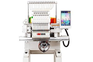 """Maya TCL-1501 Промышленная одноголовочная вышивальная машина с LCD-дисплеем 10"""""""