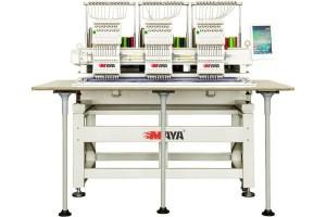 Maya TCL-1503 Промышленная трехголовочная вышивальная машина