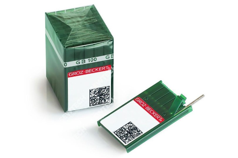 Иглы для шитья средних и тяжелых материалов Groz Beckert 135x17/DPx17 №110 R 10шт