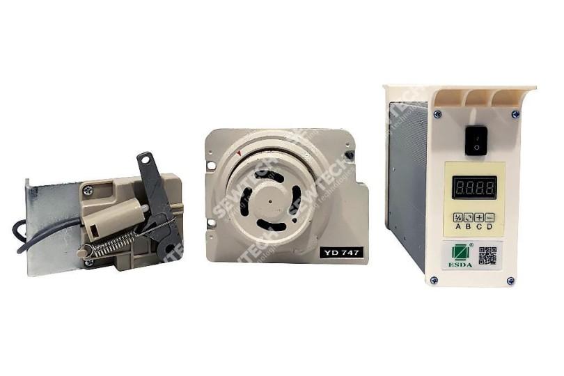 Сервомотор для промислового оверлока ESDA FZ-YD2 з позиціонуванням голки (DIRECT DRIVE)