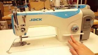 Maszyna do szycia Jack A2 - CQ z funkcją automatyczego obcinania i pozycjonowania nici