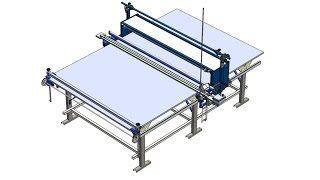 Ручной настолочный комплекс для ткани UL-3