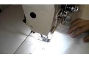 2-х голкова автоматична швейна машина Jack JK-58450D4 човникового стібка з прямим приводом і відключенням голок