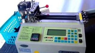 Автоматическая машина для нарезки JM-120LR 95мм., 300°C. (холодный и горячий нож)