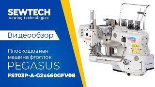Pegasus FS703P A G2x460GFV08 | Плоскошовная машина флэтлок