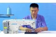 Промышленная швейная машина Jack JK-A2-CQ c обрезкой нити для легких и средних тканей