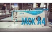 Компьютерная промышленная швейная машина Jack A4 с автоматическими функциями для легких и средних тканей