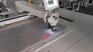 Rambo RM-12080 Автоматическая швейная машина с большой рабочей площадью