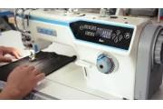 1-голкова автоматична прямострочна швейна машина Jack JK-A6F з вбудованим сервомотором, закритим картером і голковим просуванням матеріалу
