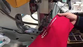 SM706-R Пневматический пресс для установки жемчужин SM706-R