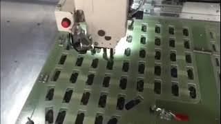 Rambo RM-12080 Автоматическая швейная машина с большой рабочей площадью на производстве бронежилетов