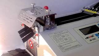 JM-120L 105мм Автоматическая машина для нарезки. (холодный нож)