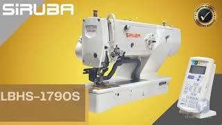 LBHS-1790S - Máquina ojaleadora electrónica (ojal de camisa)